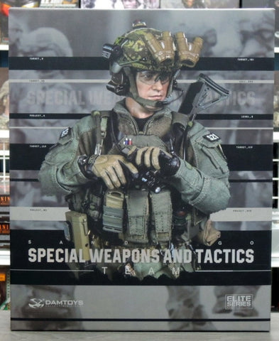 "DamToys 1/6 12"" Elite Series 78044A Midnight Ops SWAT Special Weapons And Tactics Team Action Figure"