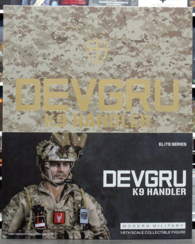 "DamToys 1/6 12"" Elite Series 78040-1 Devgru K9 Handler Action Figure"