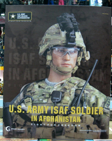 "DamToys 1/6 12"" Elite Series 78005 U.S. Army Isaf Soldier In Afghanistan Action Figure"