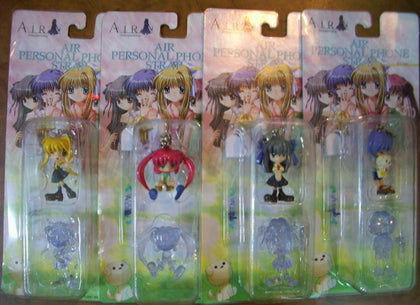 Air 4 Personal Phone Strap Trading Figure Set