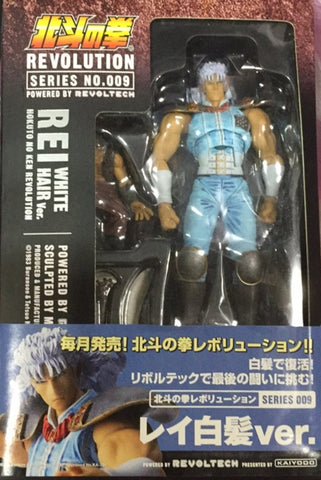 Kaiyodo Fist of The North Star Revolution Series No 009 Rei White Hair Ver Action Figure