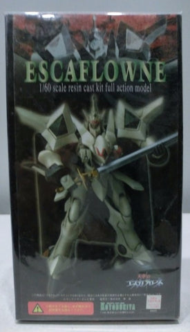 Kotobukiya 1/60 The Vision of Escaflowne Cold Cast Model Kit Figure