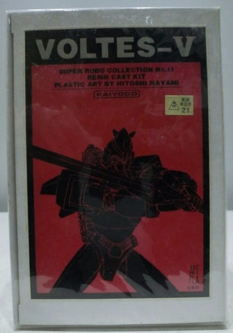 Kaiyodo Super Robo Collection No 11 Voltes V Resin Cold Cast Model Kit Figure