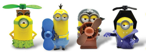 Minions 7-11 Limited 4 Mini Mascot Fan Trading Figure Set - Lavits Figure