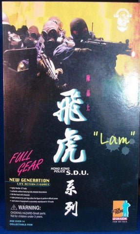 "Dragon 1/6 12"" New Generation Hong Kong Police S.D.U. Lam Action Figure"