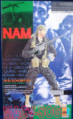 "Dragon 1/6 12"" New Generation MACV SOG Nam Ron Action Figure"