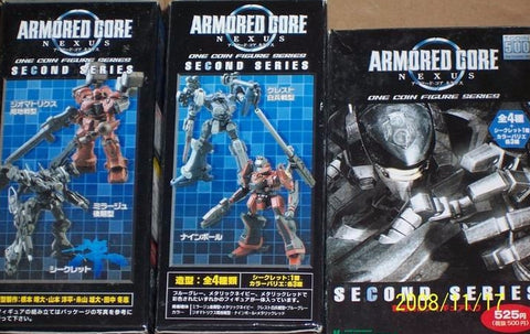 Kotobukiya One Coin Grande Series Armored Core Nexus Second 2nd 15 Trading Figure Set