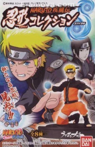 Bandai Naruto Shippuden Ningyo Ningyou Spiral 8 Trading Collection Figure Set