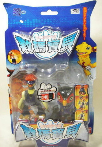 Bandai Digimon Digital Monster Falcomon Peckmon Action Figure