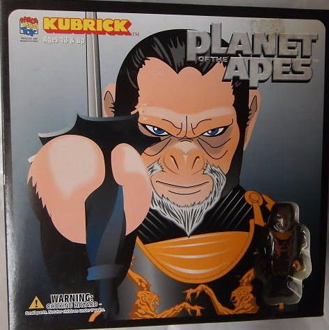 Medicom Toy Kubrick 100% Planet Of The Apes Set A Figure