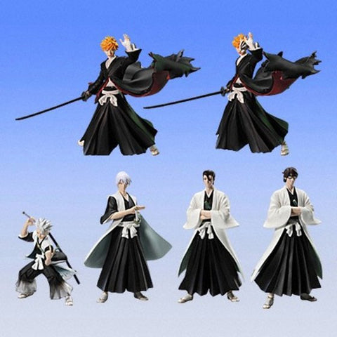 Bandai Bleach Characters Collection Trading Part 3 6 Mini Figure Set - Lavits Figure