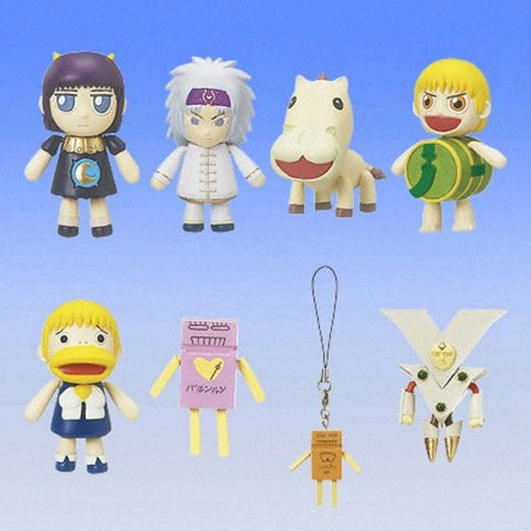 Bandai Konjiki No Gash Bell Zatch Gashapon Part 2 Strap Mascot Key Chain 8 Figure Set - Lavits Figure