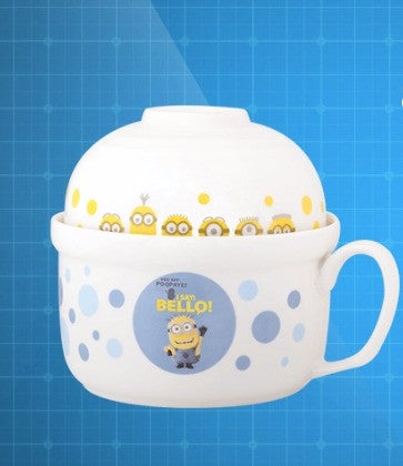 Despicable Me 3 Minions Taiwan Family Mart Limited Ceramics Bowl Type A