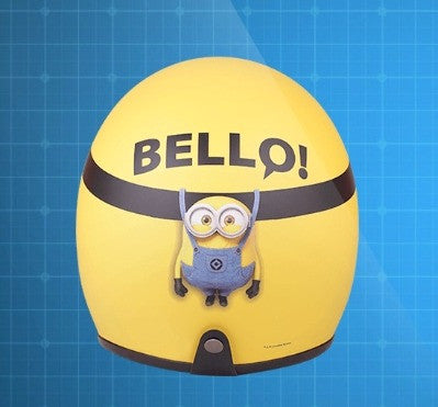 Despicable Me 3 Minions Taiwan Family Mart Limited Helmet