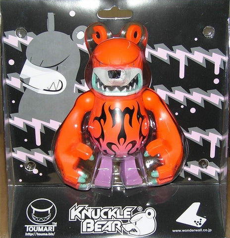 "Wonderwall Touma Knuckle Bear FTC Orange Ver 6"" Vinyl Figure - Lavits Figure"