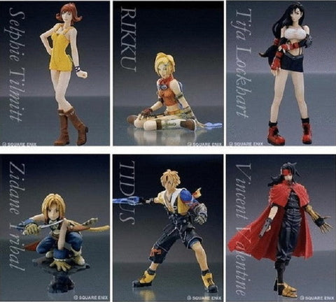 Square Enix Final Fantasy Trading Arts Vol 2 6 Color Collection Figure Set - Lavits Figure  - 2