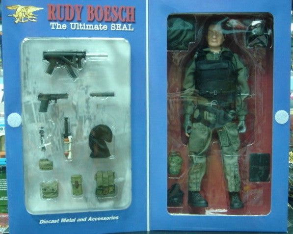 "BBi 12"" 1/6 Elite Force Collectible Item Rudy Boesch The"