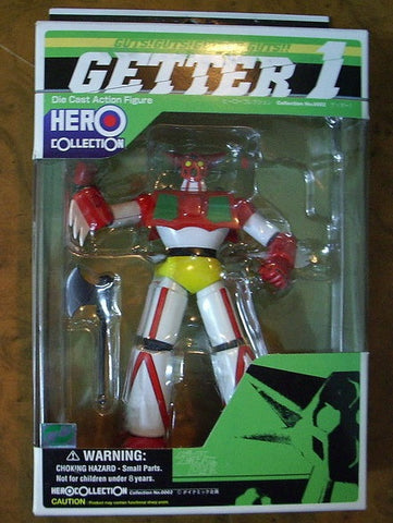 Yamato Hero Collection Getter 1 Die Cast Action Figure Set - Lavits Figure