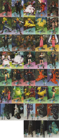 Bandai 1996 Square Enix Final Fantasy VII 7 Trading Collection Cards Part 1 38 Set - Lavits Figure