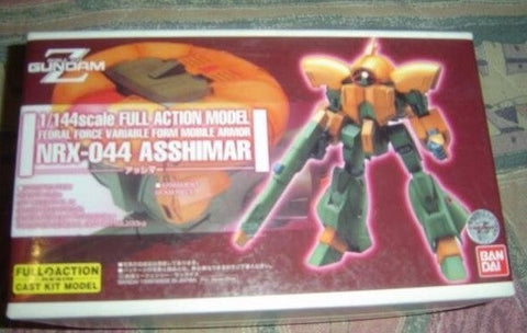 Bandai B-Club 1/144 Mobile Suit Gundam Z NRX-044 Asshimar Full Action Cold Cast Model Kit Figure - Lavits Figure  - 1