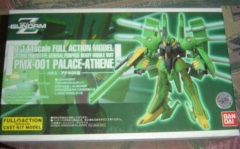 Bandai B-Club 1/144 Mobile Suit Gundam Z PMX-001 Palace Athene Full Action Cold Cast Model Kit Figure - Lavits Figure  - 1