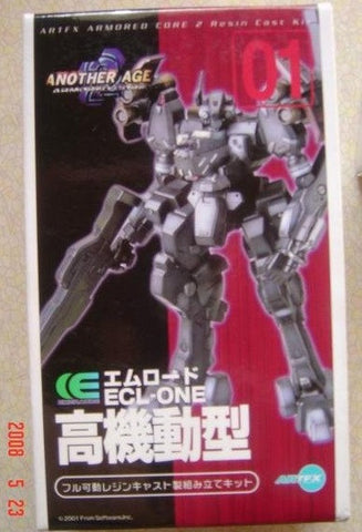 Kotobukiya Artfx Armored Core 2 Another Age 01 Ecl One Cold Cast Model Kit Figure - Lavits Figure  - 1