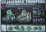 Takara 1/48 Votoms Assemble Troopers Actic Gear AG-VTM02 Marshydog ATM-09-WR Action Figure Set - Lavits Figure  - 2