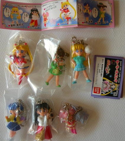 Bandai Pretty Soldier Sailor Moon SS Gashapon Capsule 6 Mini Figure Set - Lavits Figure  - 1