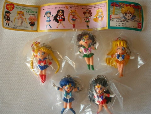 Bandai Pretty Soldier Sailor Moon R Gashapon Capsule Part 2 5 Mini Figure Set - Lavits Figure