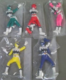 Bandai 1998 Power Rangers Lost Galaxy Gingaman Gashapon 5 Trading Figure Set - Lavits Figure  - 2