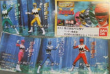 Bandai 1998 Power Rangers Lost Galaxy Gingaman Gashapon 5 Trading Figure Set - Lavits Figure  - 1