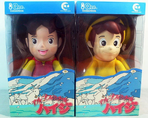 "Toy2R Qee Collection Heidi Girl of Alps Peter 30th Anniversary Ver 8"" Vinyl Figure Set - Lavits Figure  - 1"