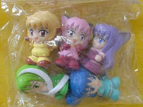 "Authentic Tokyo Mew Mew 5 2"" Cute Mini Trading Collection Figure Set - Lavits Figure"