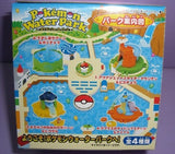 Bandai Pokemon Pocket Monster Water Park 4 Play Trading Collection Figure Set - Lavits Figure  - 2