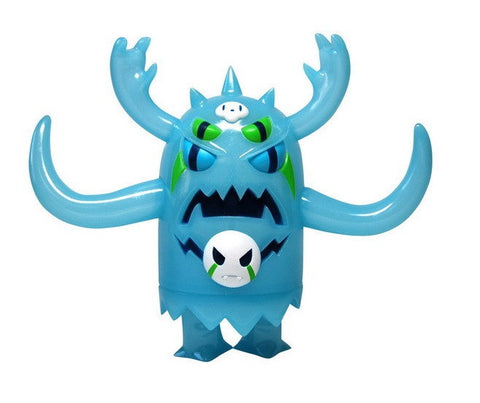 "Wonderwall 2007 Simone Legno Tokidoki Taberon KFGU Kaiju For Grown Ups Blue Ver 6"" Vinyl Figure - Lavits Figure"