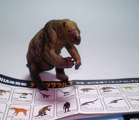 Kaiyodo Dinotales Dinosaur Part 2 No 039 Megatherium Trading Collection Figure - Lavits Figure