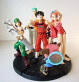 Bandai 2001 One Piece From TV Animation Gashapon Real Collection Part 4 6 Trading Figure Set - Lavits Figure  - 2