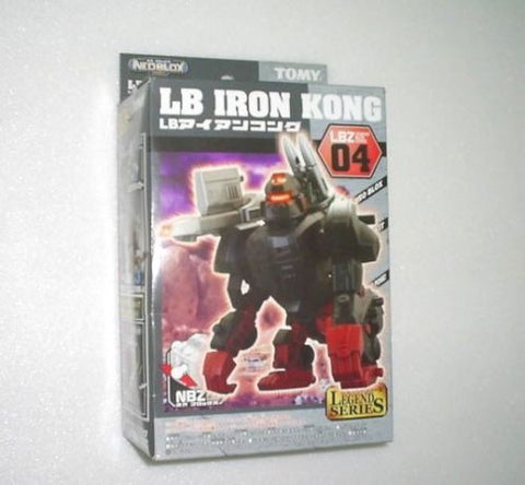Tomy Zoids 1/72 LBZ-04 NBZ Legend Series LB Iron Kong Plastic Model Kit Action Figure - Lavits Figure