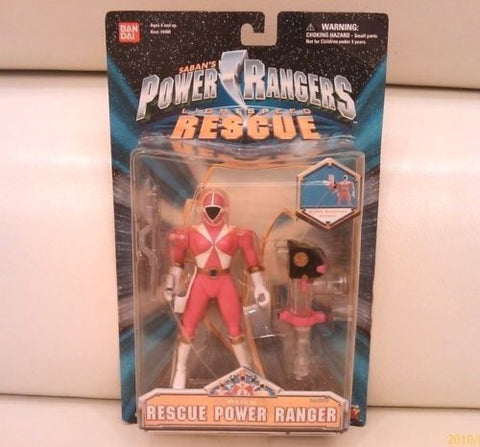 "Bandai Power Rangers Gogo Five V Lightspeed Rescue Pink Fighter 5"" Action Figure - Lavits Figure"