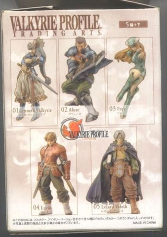 Square Enix Products Valkyrie Profile Trading Arts 5 Color Collection Figure - Lavits Figure