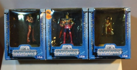 Banpresto Saint Seiya Myth Cloth Diorama Blue Forever Part 1 3 Color Trading Collection Figure Set
