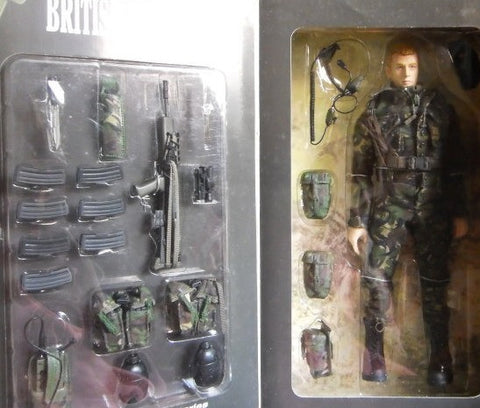 "BBi 12"" 1/6 British Royal Marine MNE Allen Action Figure - Lavits Figure  - 1"