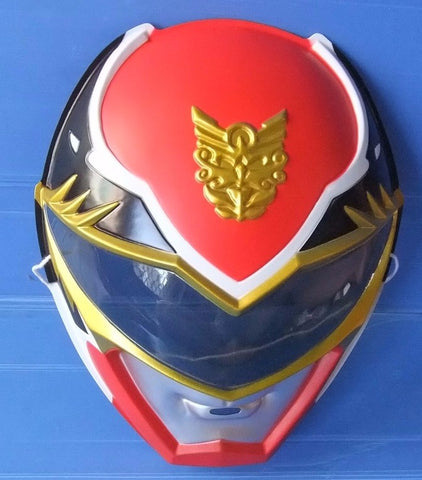 Toei Power Rangers Megaforce Goseiger Gosei Red Fighter Plastic Mask