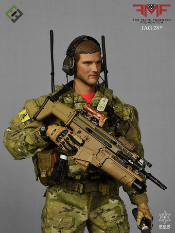 "Easy&Simple E&S 1/6 12"" Mission Specific Equipment The Mark Forester Foundation CCT Action Figure"
