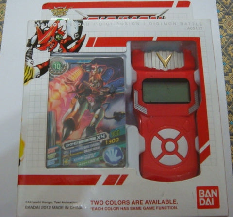 Bandai 2012 Digimon Digital Monster Battle Xros Wars Loader Red Ver Figure