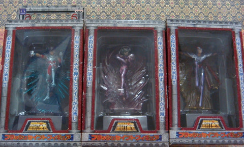 Banpresto Saint Seiya Myth Cloth Night Lamp 3 Trading Figure Set
