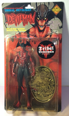 Fewture Devilman Go Nagai Tribal Devilman Red Ver Action Figure