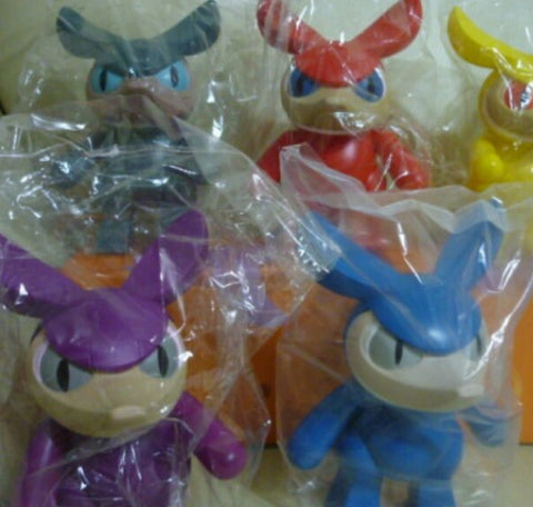 "Toy2R 2005 Touma Snout 6"" Vinyl Figure Set"