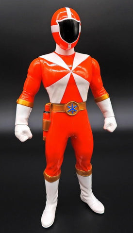 "Bandai Power Rangers Gogo Five V Lightspeed Rescue Red Fighter 10"" Soft Vinyl Action Figure"