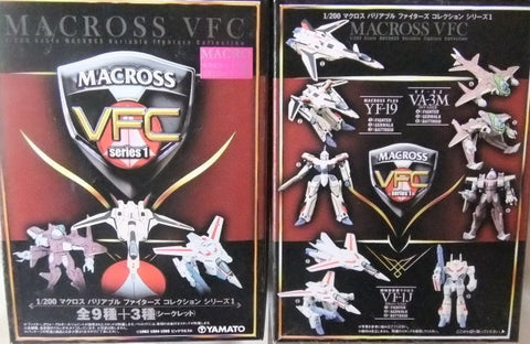 Yamato 1/200 Robotech Macross VFC Variable Frontiers Collection Sealed Box 10 Random Trading Figure Set